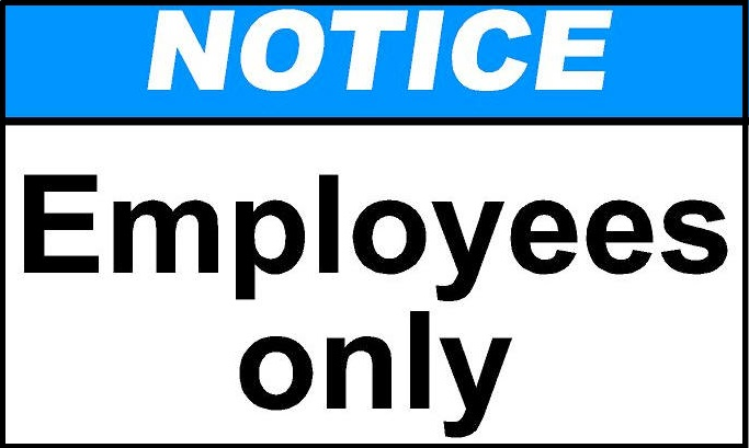 employee only